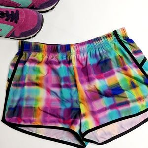 New Balance Rainbow Multi Colored Running Shorts